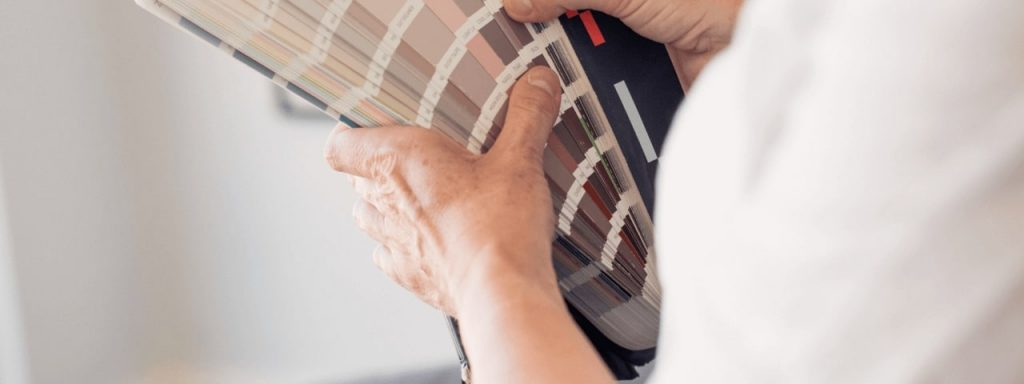 JCD interior design color palette